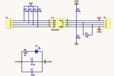 MAX485 Connection Circuit
