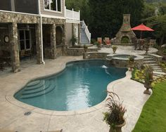 Master Pools Guild | Residential Pools And Spas   Freeform Gallery · Pool  And PatioBackyard ...