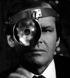 """Jack Nicholson en """"Tommy"""", 1975"""