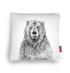 Bear cushion – DOWSE