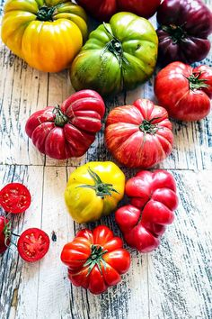 Heirloom Tomatoes | Circa Happy