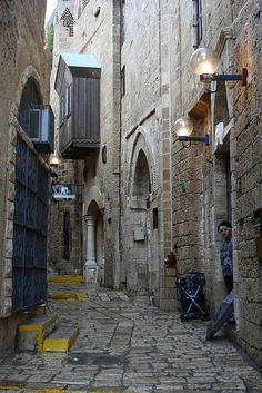 Narrow Galley, Jaffa .Israel