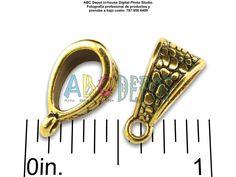 #Bail en #Metal color #Oro antiguo de 14.5x7.5mm. Bolsita con 5, Código: BAG1575