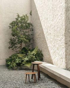 Casa Octavia, a hotel opened by a fashion brand in Mexico City, has a gravel-lined outdoor space down one side. Best Boutique Hotels, A Boutique, Residential Architecture, Contemporary Architecture, Minimalist Architecture, Gazebo, Lattice Screen, Garden Design, House Design