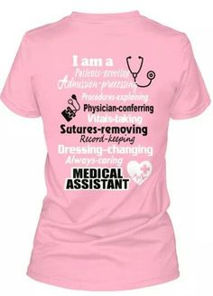 Medical assistant quotes shirts New ideas Medical Assistant Quotes, Medical Quotes, Medical Symbols, Medical Humor, Medical School, Funny Medical, Nurse Humor, Medical Drawings, Medical Laboratory Science
