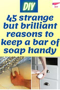 Christmas Countdown Calendar, Homemade Laundry Detergent, Wd 40, Diy Funny, Good Housekeeping, Diy Hacks, Just Amazing, Bar Soap, Health Remedies
