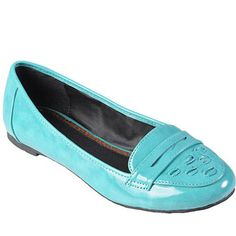 Brinley Co Womens Topstitched Round Toe Loafer