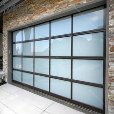 American Quality Standard Customized Aluminum Glass Panel Automatic Garage  Door , Find Complete Details About American