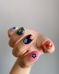 Acryl Nails, Funky Nails, Funky Nail Art, Colorful Nails, Cute Nail Art, Fire Nails, Minimalist Nails, Dream Nails, Cute Acrylic Nails