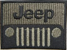 Jeep Wrangler Grand Cherokee Car Embroidered Sew Iron on ...