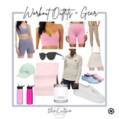 Happy #nationalfitnessday! Here are some great work out wear options for working on that fitness!! 🏋️♀️ #liketkit #workingonmyfitness #workoutwearinspo Follow me in the @LIKEtoKNOW.it shopping app to shop this post and get my exclusive app-only content! #liketkit #LTKunder50 #LTKSeasonal #LTKunder100 @liketoknow.it Workout Wear, Content, Fitness, Happy, Gift, How To Wear, Inspiration, Outfits, Shopping