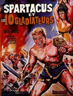 Spartacus et les Dix Gladiateurs - film 1965