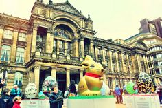 The Lindt big egg hunt 2013 launches in London