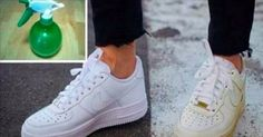 SIMPLE TRICK TO CLEAN YOUR DIRTY WHITE SHOES AND MAKE THEM WHITE AGAIN