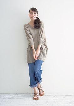 Hama girl loose relaxed coastal outfit