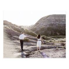 #savethedate #postcards - #Modern photo save the date postcard