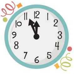 new years clock svg scrapbook title new years svg cut files balloons svg cuts scrapbook frames