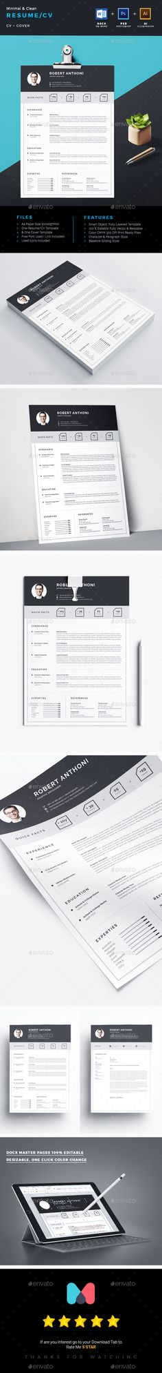 Professional Resume Template - MS Word Compatible - Best CV - it professional resume template word
