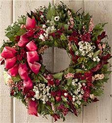 Romance Roses Wreath