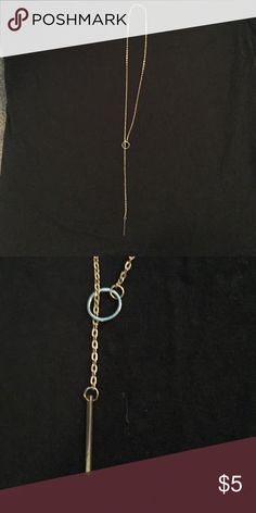 Long gold necklace Got it in a bundle Jewelry Necklaces