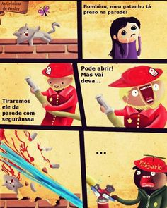 Matou o gatenho Funny Images, My Images, Matou, Son Luna, Yandere, Cat Memes, Funny Posts, Comic Strips, Haha