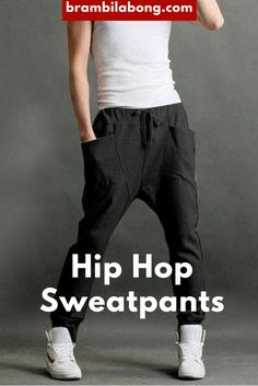 Black Hip Hop Dance Sweatpants