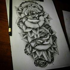 Rose sketch