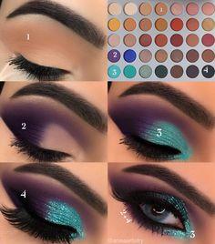 Gorgeous Makeup: Tips and Tricks With Eye Makeup and Eyeshadow – Makeup Design Ideas Gorgeous Makeup, Love Makeup, Makeup Inspo, Makeup Inspiration, How To Makeup, Perfect Makeup, Girls Makeup, Makeup Eye Looks, Eye Makeup Steps