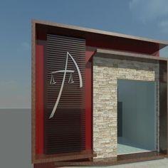 Glass Office, Future Travel, Facade, Beautiful Homes, Garage Doors, Exterior, Showroom, Outdoor Decor, Projects