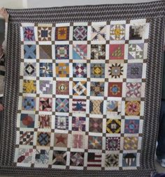 A Years Worth of Civil War Blocks, Thank You Barbara Brackman.