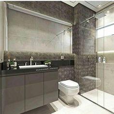"""47 curtidas, 1 comentários - 🗼Arquitetura & decoração (@mxdecore) no Instagram: """"A inspiração de hoje vai para esse banheiro mais lindinho da arquiteta @carolcantelli_interiores.…"""""""