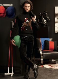 Polo Ralph Lauren's Winter Holiday 2012 Campaign forMen