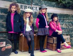 Moda niños de Bimbalina otoño-invierno 2015