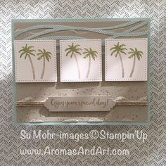 Watercolor Waterfront Stampin' Up! Occasions 2018