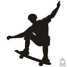 Skateboard, Vinyl Wall Decal, Vinyl Wall Decor, Vinyl Decal, Wall Decal, wall stickers, väggord, väggtext, väggdekor, Sisustustarra