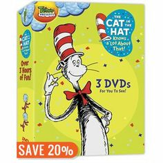 The Cat in the Hat Knows a Lot About That! 3 Pack