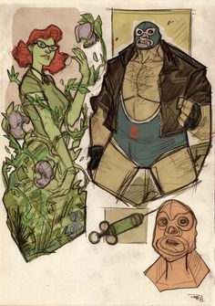 Project Rooftop: 50's Poison Ivy and Bane