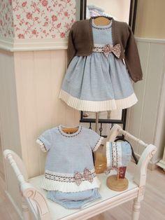Menudets-moda infantil: COLECCIÓN VICHY CELESTE LOAN BOR INVIERNO 13-14