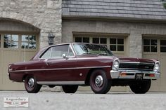 1966 Chevrolet Chevy II coupe, L79 327/350 horse 4Bbl V8/3 on-the-tree/3.31 posi
