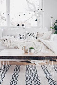 Ein schöner Tag, Foto: Mitglied BohoandNordic #wohnzimmer #livingroom #weihnachtsdeko #christmasdecoration