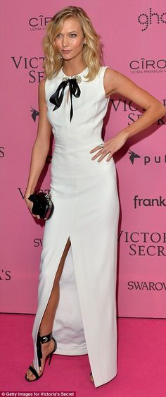 Alessandra Ambrosio continues to show off her ample cleavage as she dons a VERY tight-fitting outfit following the Victoria's Secret Fashion Show | Daily Mail Online