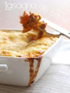 Bocados dulces y salados: LASAÑA de carne   receta