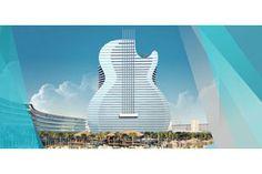36-storey guitar-shaped hotel revealed - Image: (c) Hard Rock