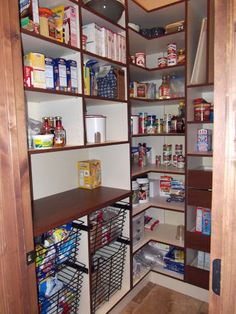small walk in pantry google search - Kitchen Pantry Shelving Ideas