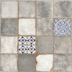 Egen Terakota Antic gris 45 cm x 45 cm mat kupuj w OBI Tile Floor, Tiles, Flooring, Texture, Rugs, Crafts, Utca, Vintage, Home Decor
