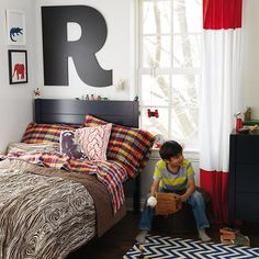Not Giant Enough Letters (A thru Z) in Wall Letters | The Land of Nod