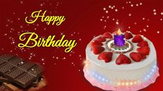 Happy birthday greeting, video greeting e-card for dear sister, birthday wishes for sister/sis.