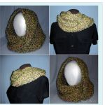 Chunky Crochet Cowl Free Pattern by @jessieathome