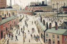 Lowry, man of Marmite and matchsticks