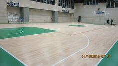 L'intervento di installazione del nuovo parquet sportivo a Bergamo è ultimato